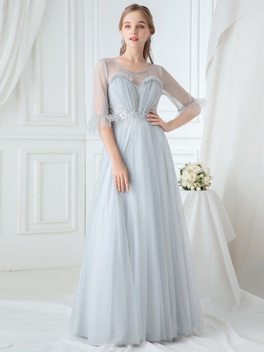 Ever Pretty tulle bridesmaid dress