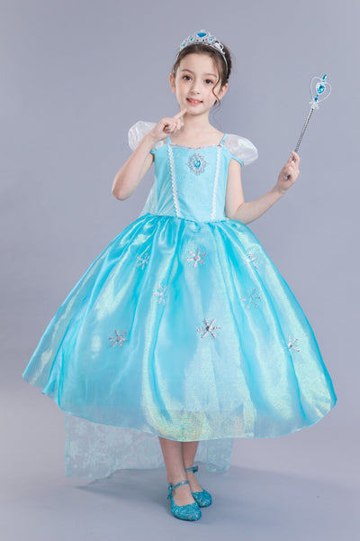 Cute Ocean-style Flower Girl Dresses with Crystals