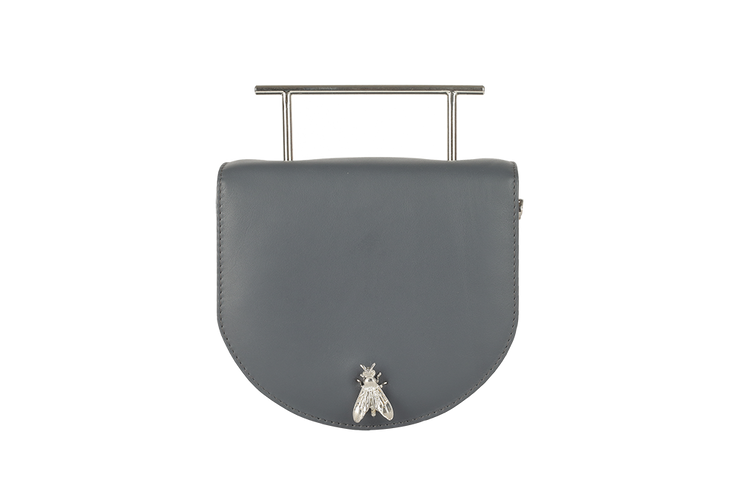 Quicksilver / Clover Tan Strap-Clutch-Glamourental