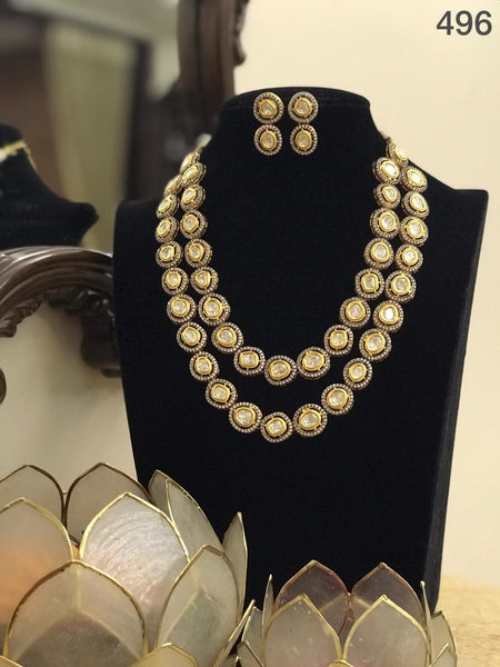 Beautiful Pearl Necklace Set