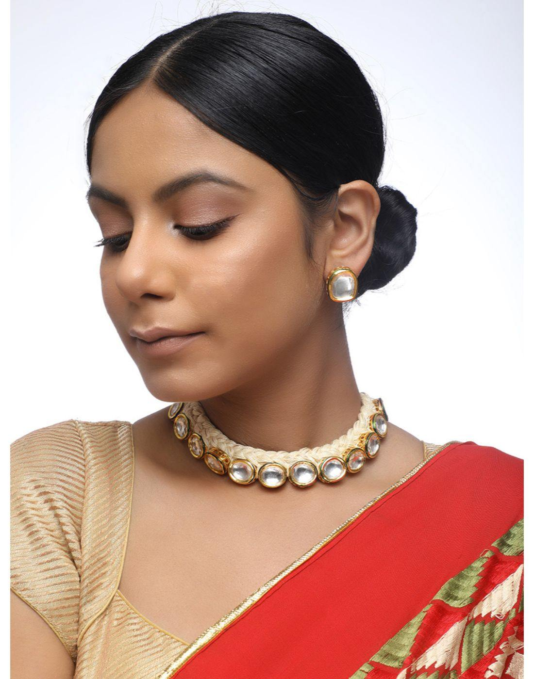 Kundan Set-Accessories-Glamourental