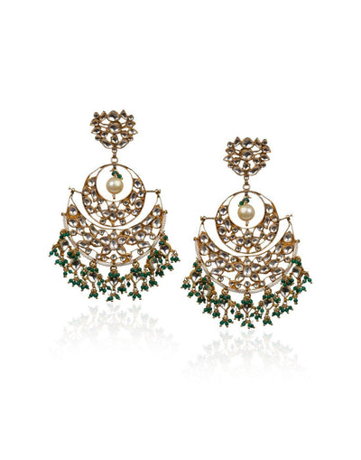 Big Chand Baali Earrings