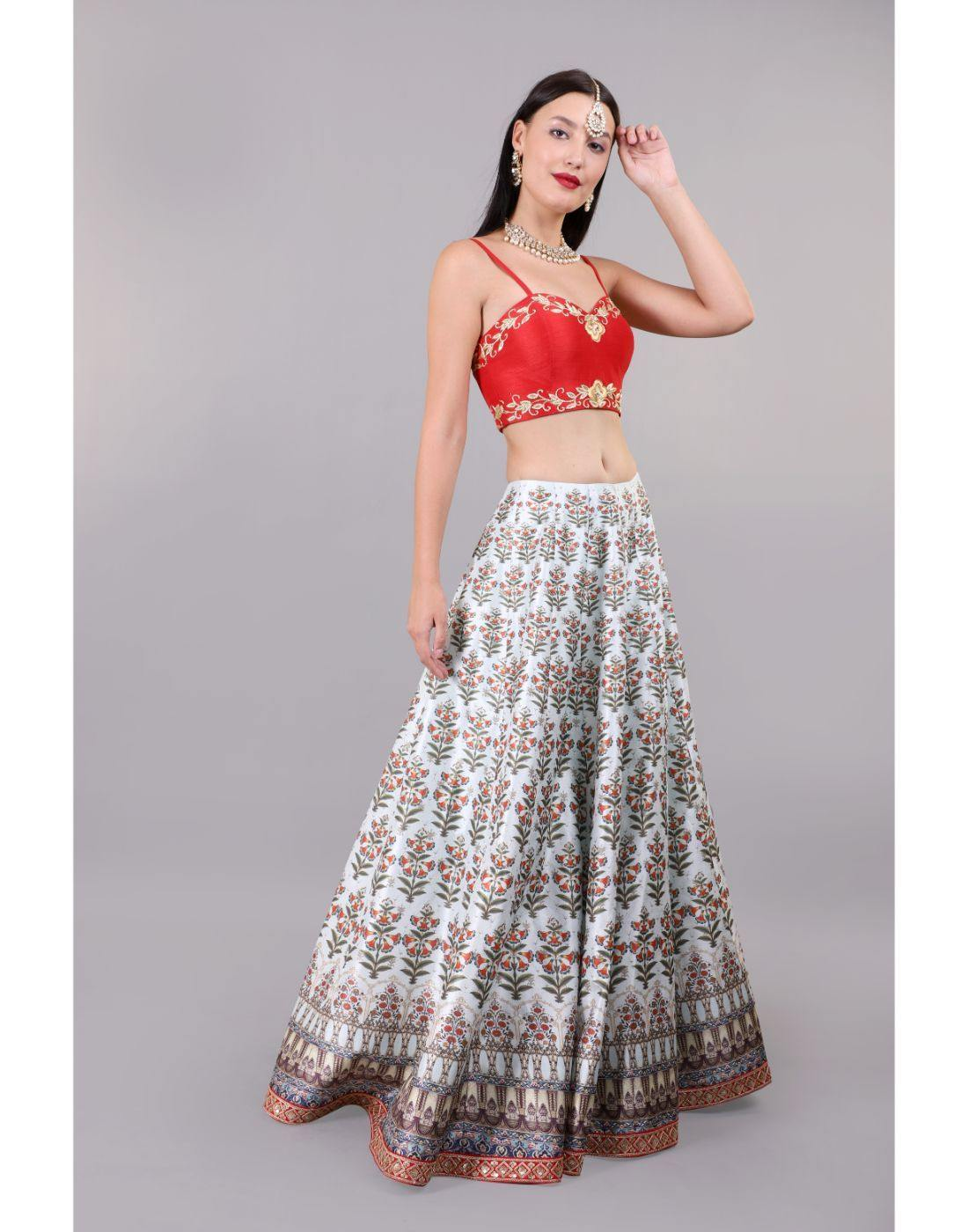 Rent Saraya Lehenga Set-Women-Glamourental