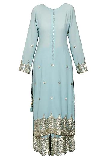 Rent Gota Patti Kurta And Pyjama Set-Women-Glamourental