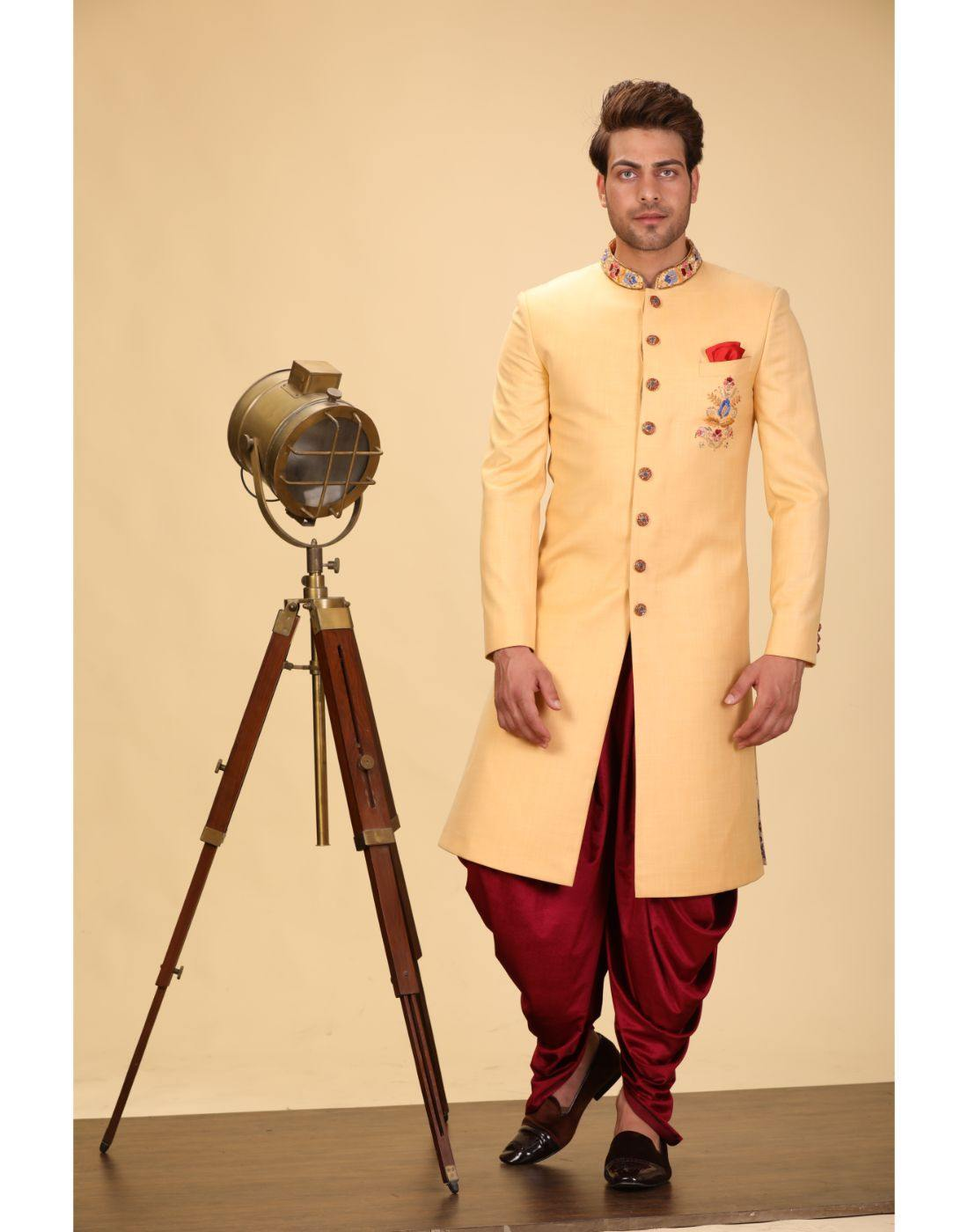 Indowestern-Men-Glamourental