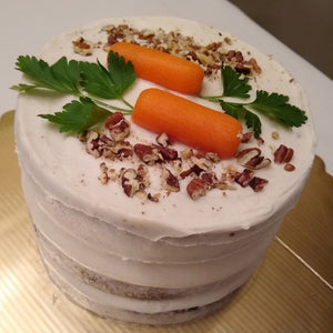 lubbock bakery nashwell, carrot cake, dairy free, healthy