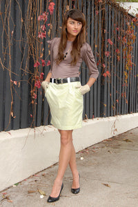 lubbock designer fashion, skirt, handmade