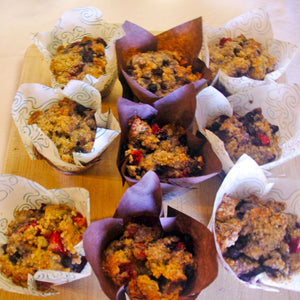 Mixed Berry Vegan Muffins (6 or 12)