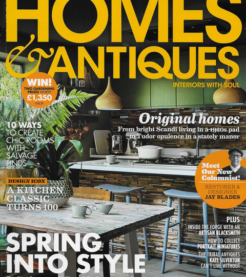 HOMES & ANTIQUES MAGAZINE - MARCH 2019