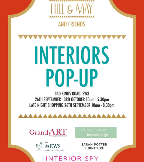 INTERIORS POP UP