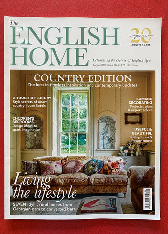 The English Home front cover August 2020
