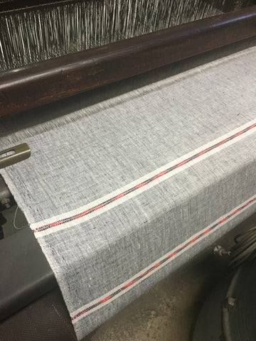 fabric being made by Bujosa