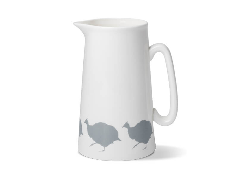 GUINEAFOWL TWO PINT JUG