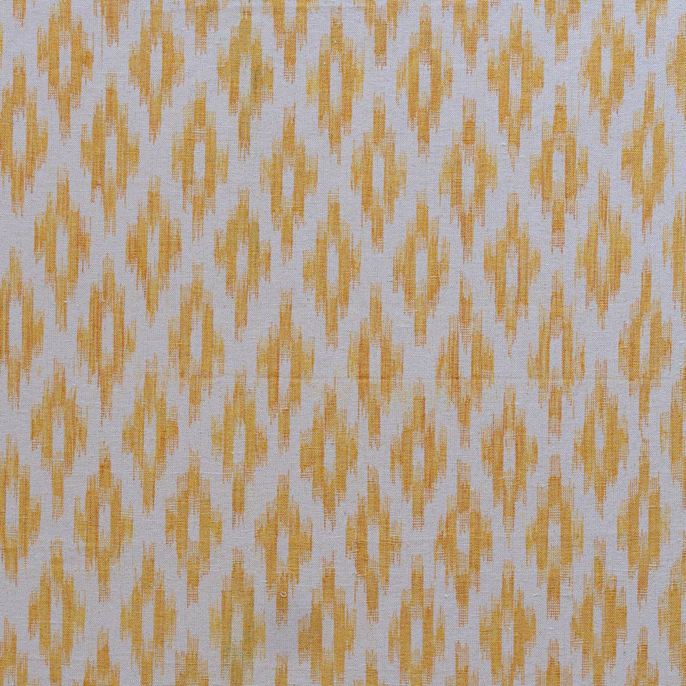 BUJOSA FABRIC - GOLDEN YELLOW MEDIUM CHEVRON