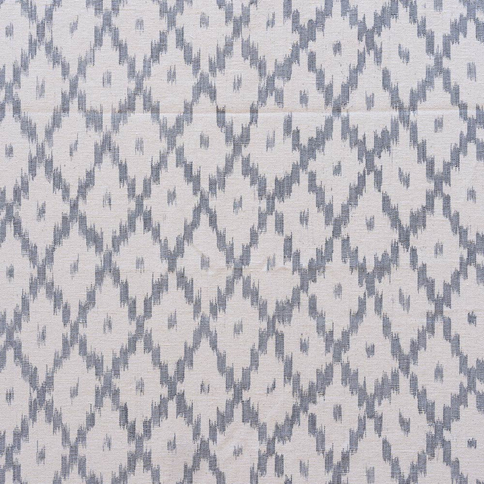 BUJOSA FABRIC - STEEL GREY MEDIUM CHEVRON