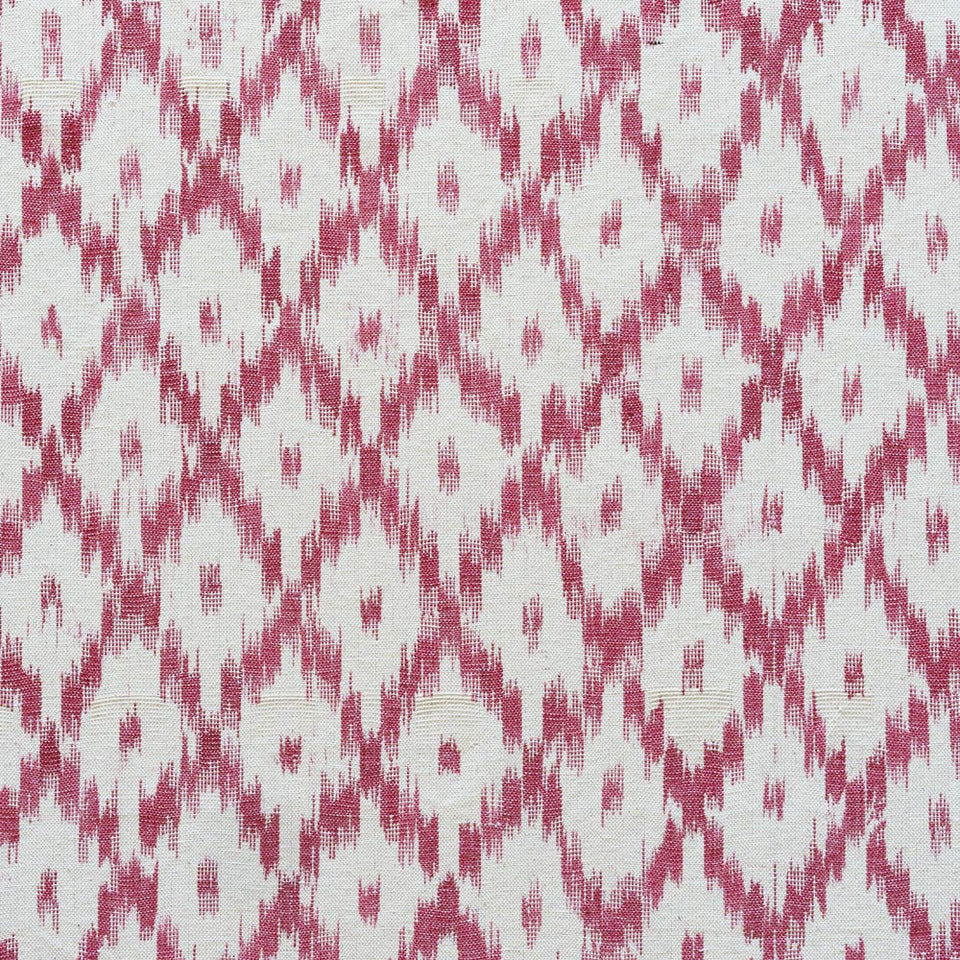BUJOSA FABRIC - RASPBERRY PINK MEDIUM CHEVRON