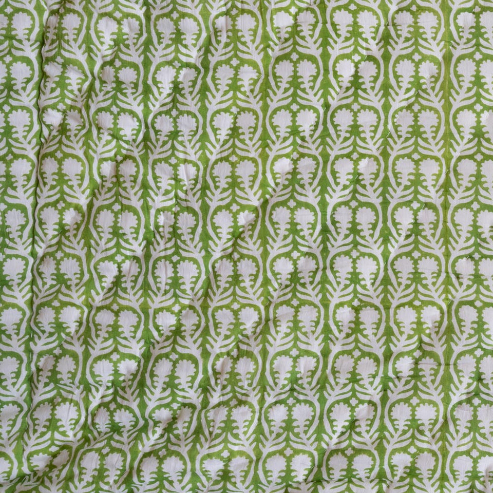 SALLY QUILT IN GREEN
