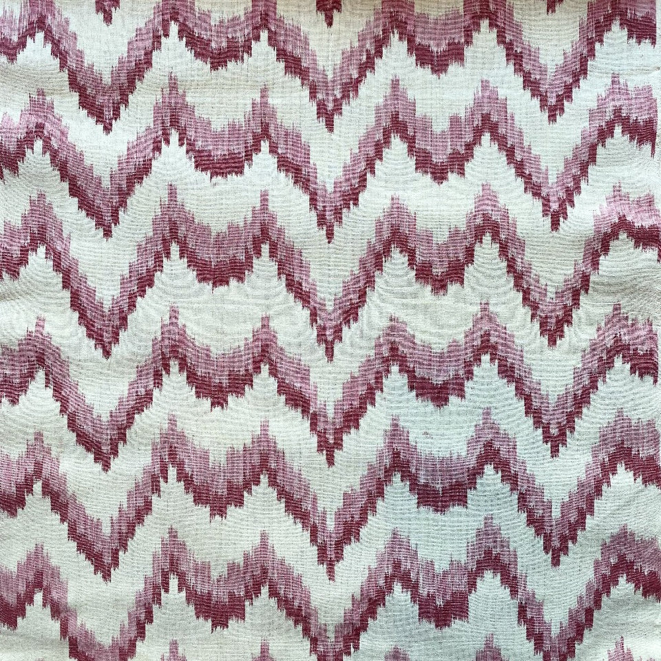 BUJOSA FABRIC - FLAMESTITCH PINK