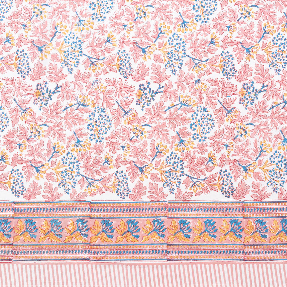 KELPIE TABLECLOTH IN PINK-BLUE