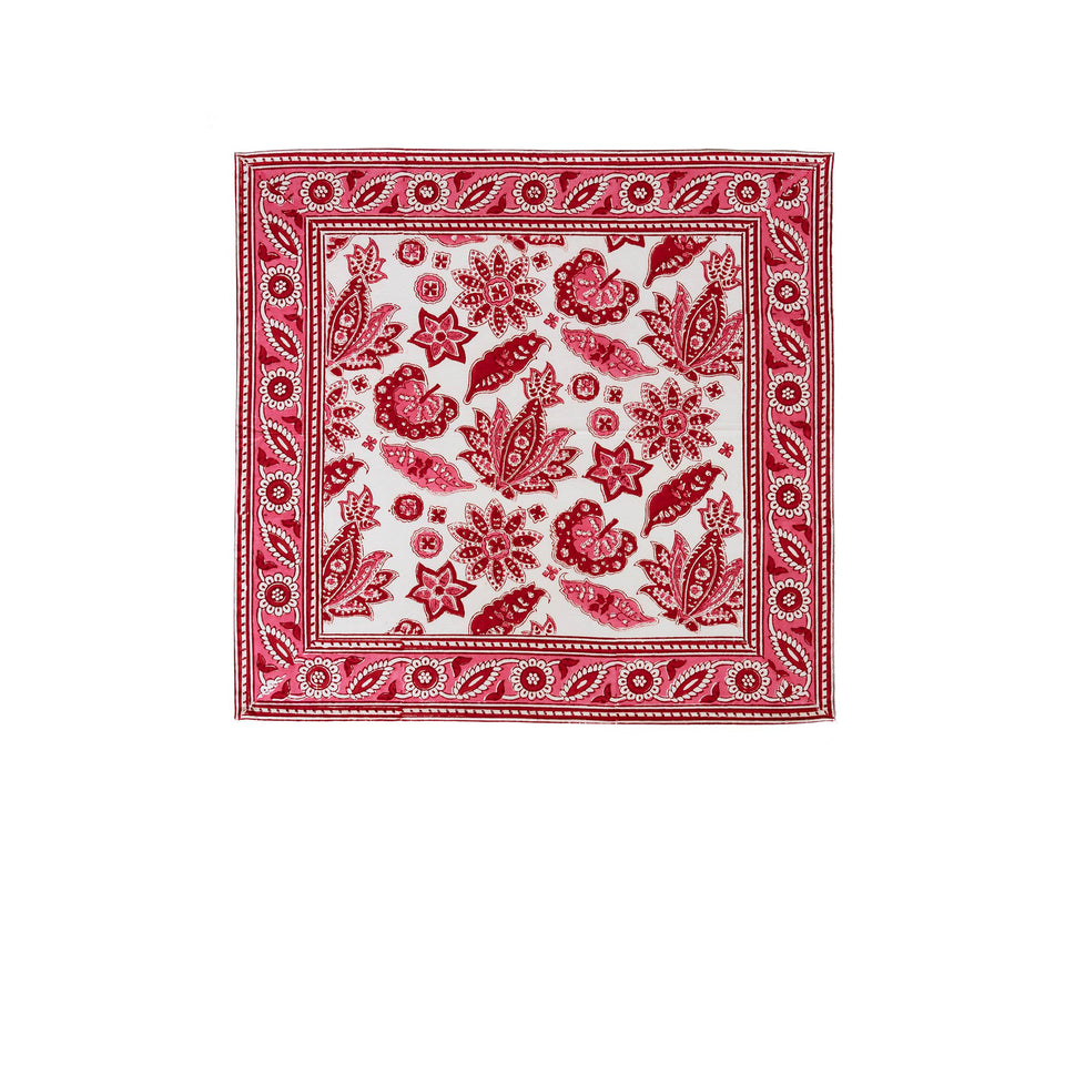 ROBERTA JAL NAPKIN IN RED  (SET OF 4)
