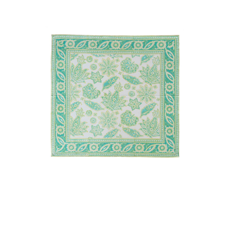 ROBERTA JAL NAPKIN IN AQUA  (SET OF 4)