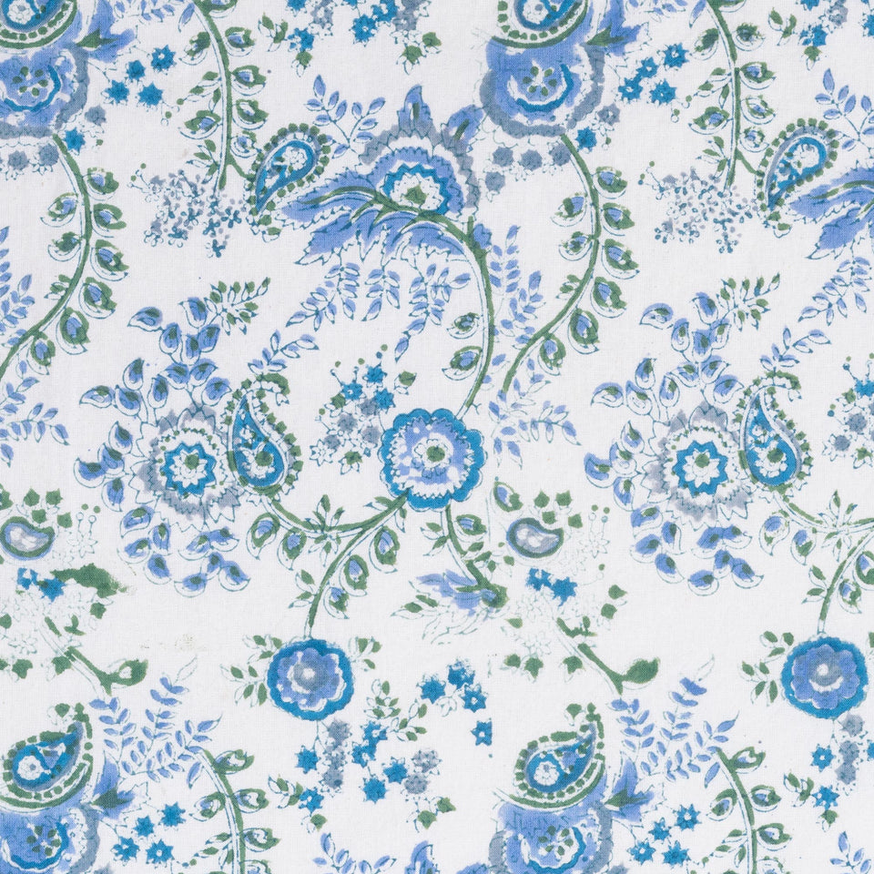 MEADOW TABLECLOTH IN BLUE