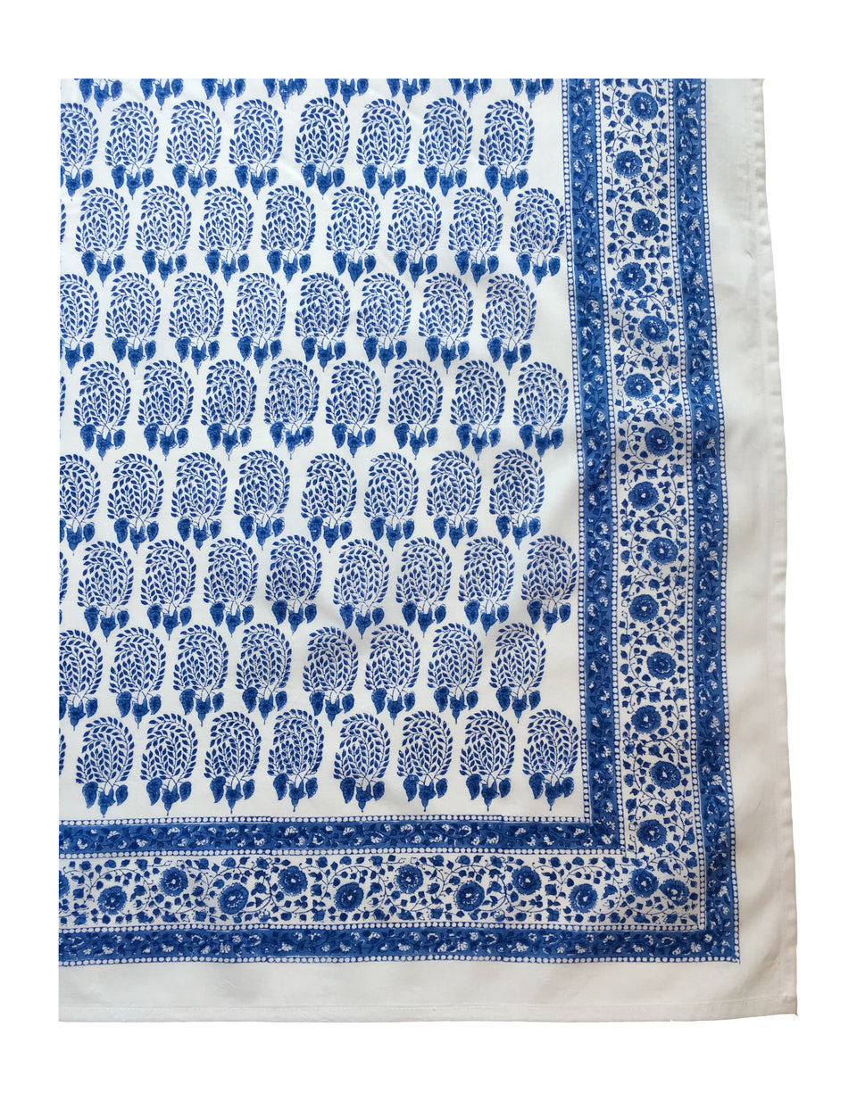 BUMBLE TABLECLOTH IN BLUE