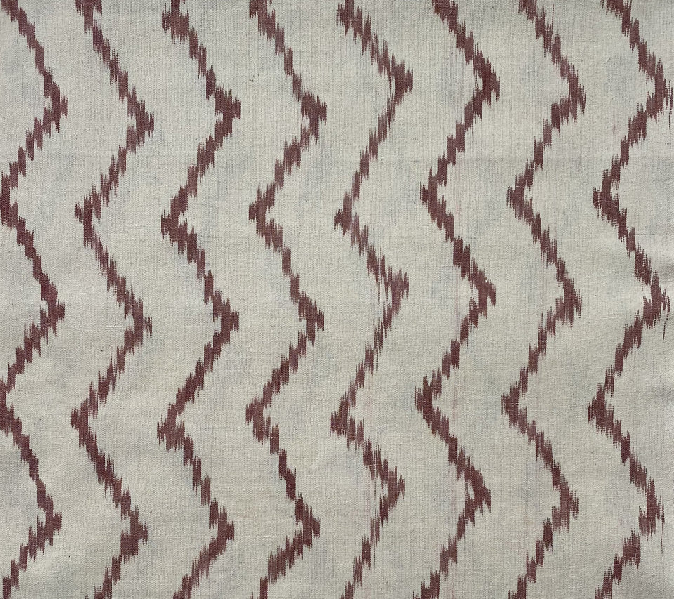 BUJOSA FABRIC - TERRACOTTA WAVE