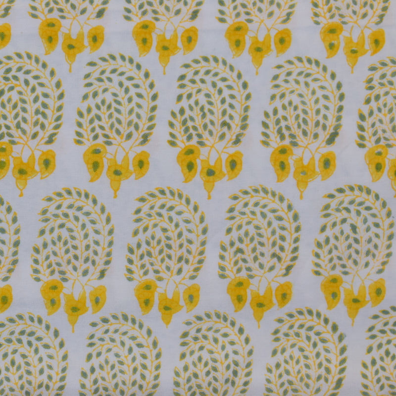 BUMBLE FABRIC IN YELLOW