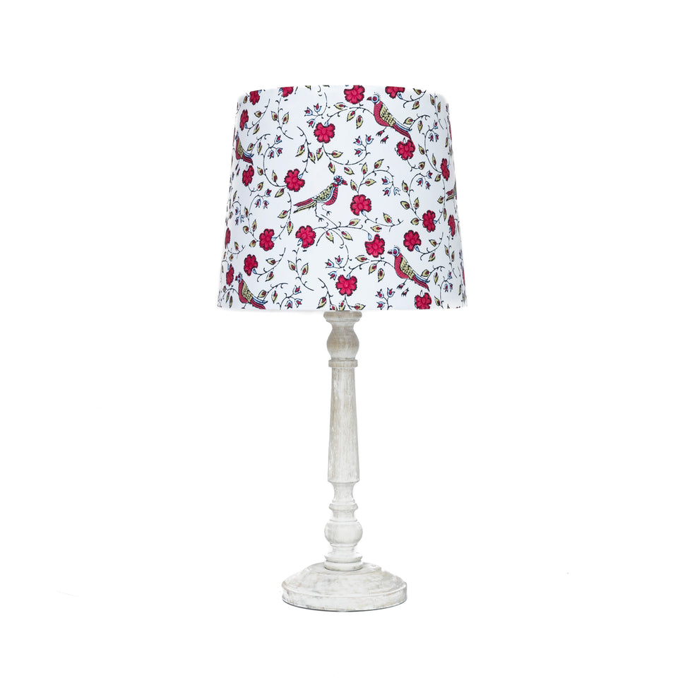 HANDMADE FABRIC LAMPSHADE
