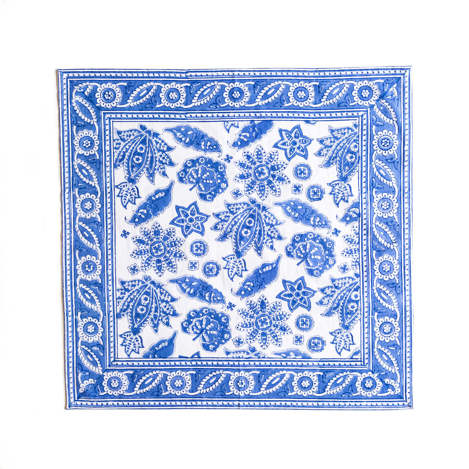 ROBERTA JAL NAPKIN IN BLUE  (SET OF 4)