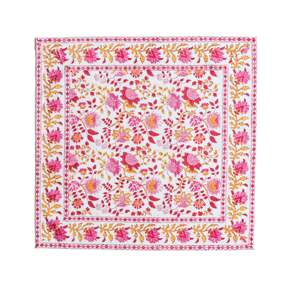 GN JAL NAPKINS IN PINK  (SET OF 4)