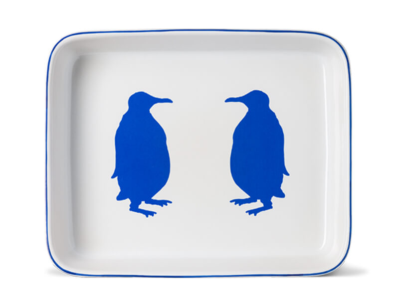 LARGE RECTANGLE PENGUIN OVENWEAR DISH