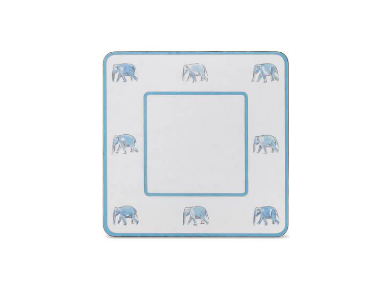 CLASSIC TABLE MAT WITH ELEPHANTS