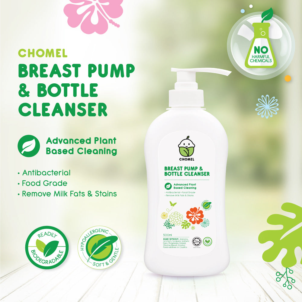 Chomel Baby Breast Pump & Bottle Cleanser 500ML