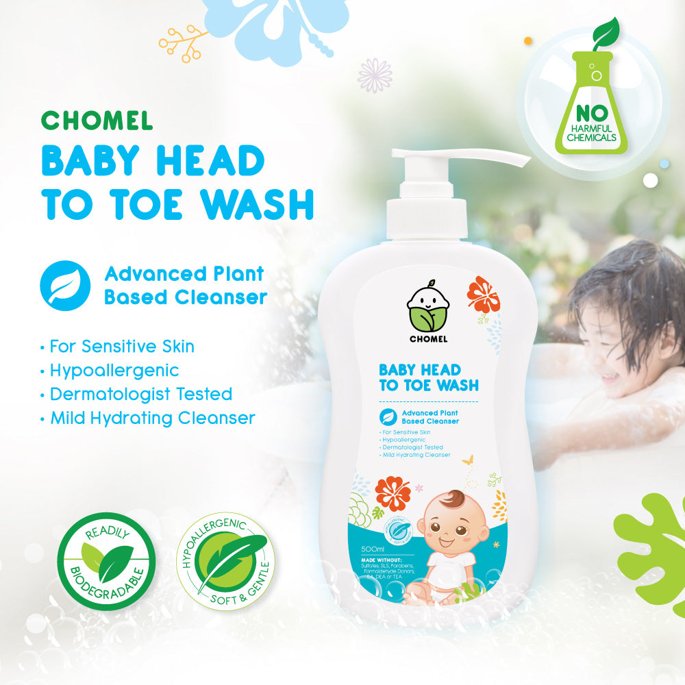 Chomel Baby HEAD TO TOE WASH 500ML