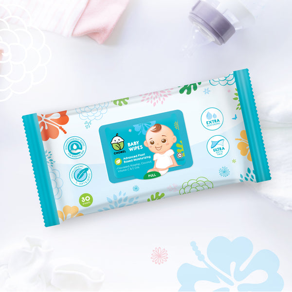 CHOMEL Baby Wipes 30 Sheets