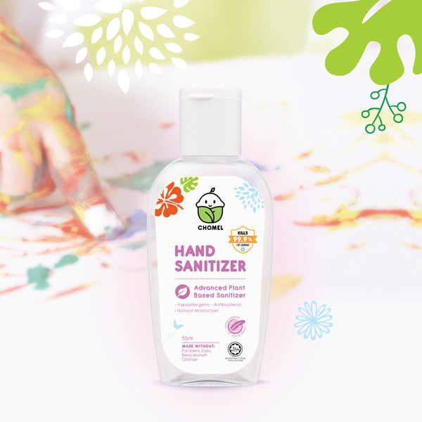 CHOMEL Kids Hand Sanitizer 70% Alcohol 55ml