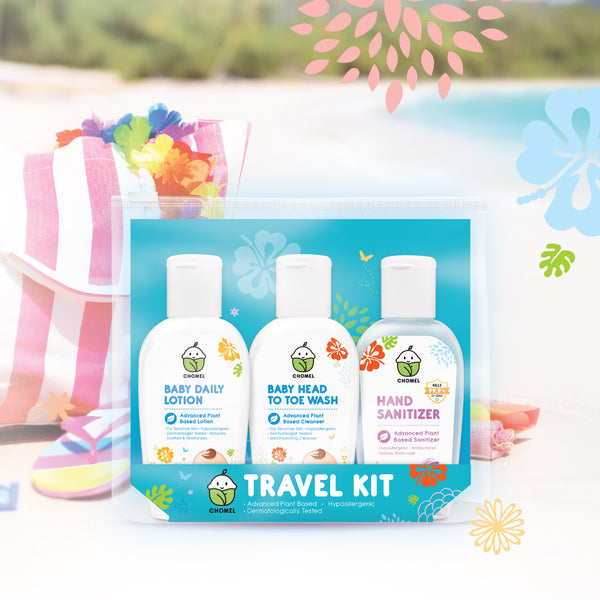 CHOMEL Baby Travel Kit (50ml x 3)