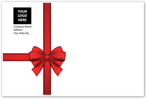 Envelope - Red Bow - Logo Return Address