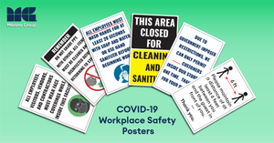 COVID-19 Poster:  Facility Bundle Package D - 24 Posters