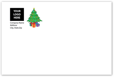 Envelope - Christmas Tree - Logo Return Address