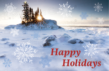Load image into Gallery viewer, Holiday Card - Winter Land Holiday (30 Count Cards and Blank Envelopes)