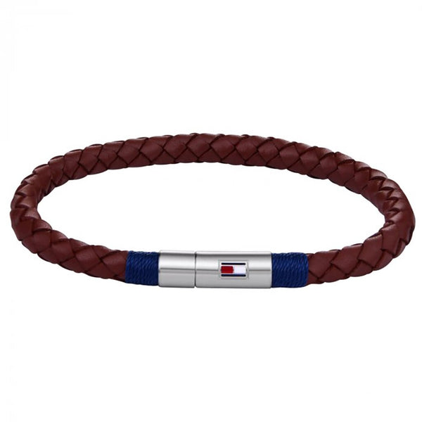 Men's Casual Leather Braided Bracelet (2701068)