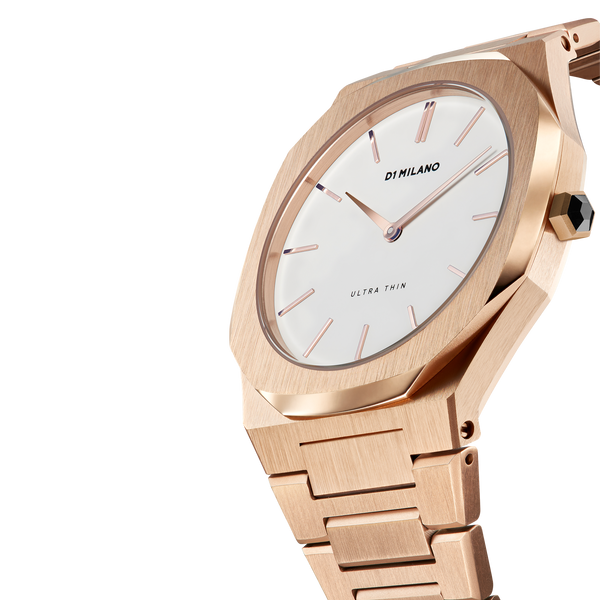 Ladies Ultra Thin Bracelet Rose Gold Watch (D1-A-UTBL02)