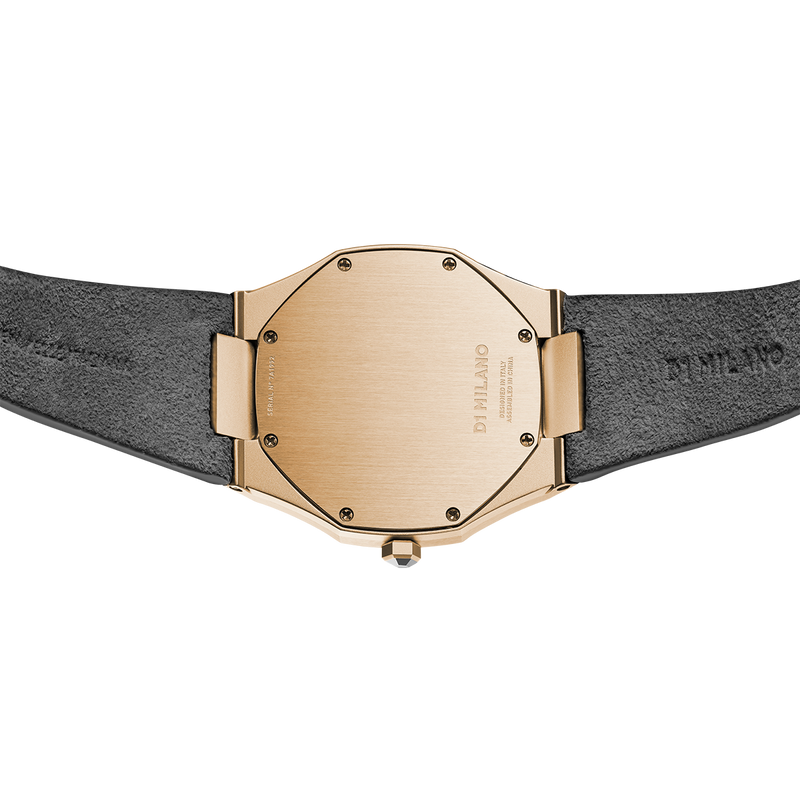 Ladies Ultra Thin Suede Venice Grey Watch (D1-A-UTL05)