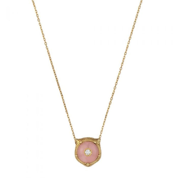 Gucci Le Marché 18ct Gold Opal Stone Necklace