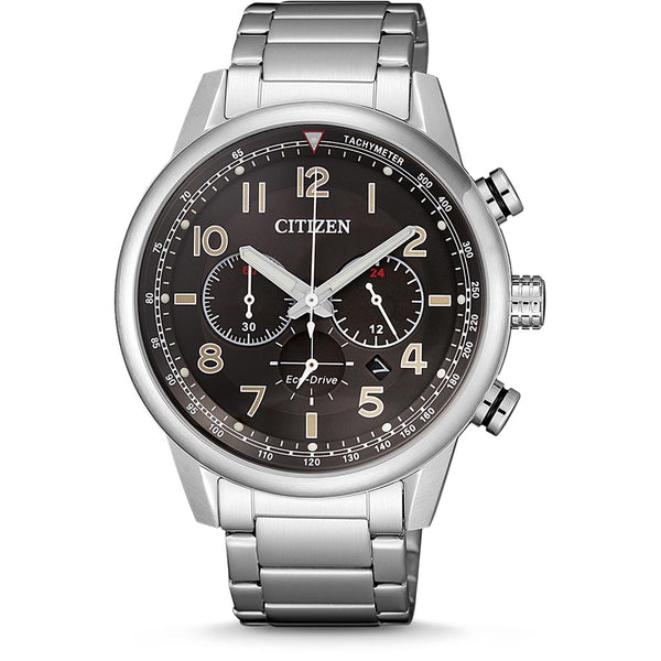 Men's Eco-Drive chronograph watch (CA4420-81E)
