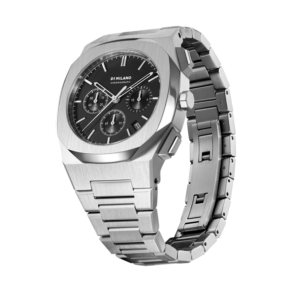 Men's Chronograph Black Watch (S-CHBJ01)