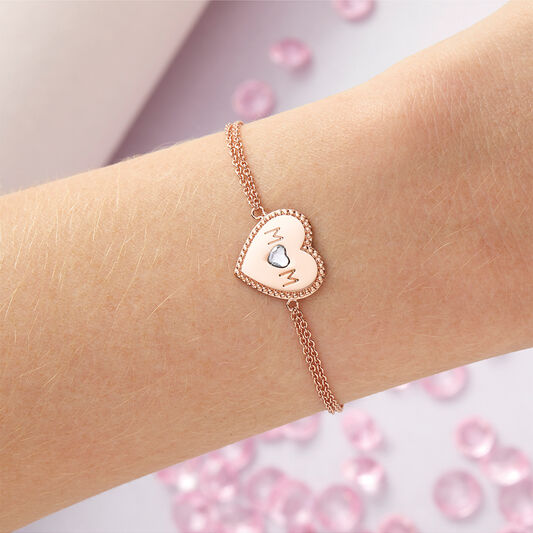 Mom Heart Bracelet (OBJLHB11)
